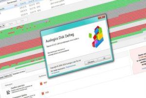 Auslogics Disk Defrag Функции