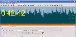 mp3DirectCut - популярная программа для нарезки музыки в MP3