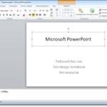 добавлен новый вид интерфейса В Майкрософт офисе 2010