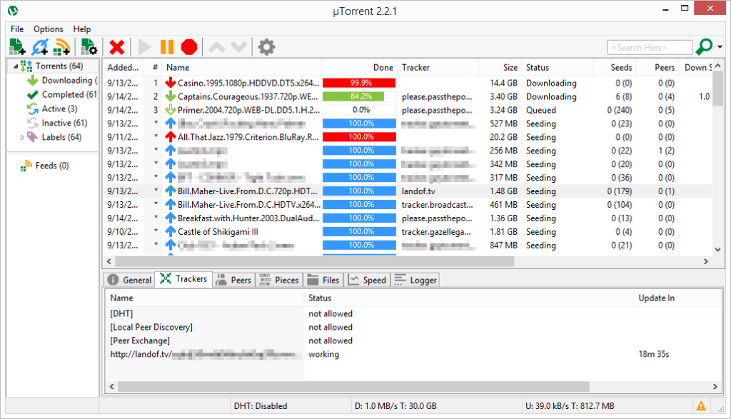 скачать файлы uTorrent