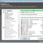 ccleaner Интерфейс программы