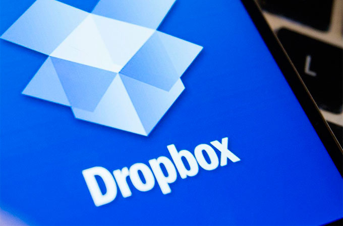 dropbox Обмен файлами