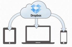 Как синхронизировать файлы dropbox