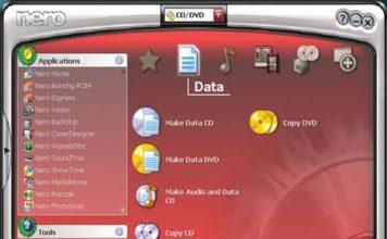 бесплатный рекордер дисков Nero Free