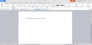 Редактор Writer WPS Office Free
