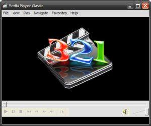 K-Lite Codec входит видеоплеер Media Player Classic