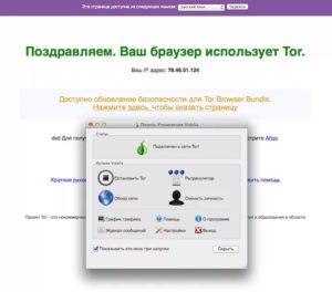 Tor Browser основные возможности