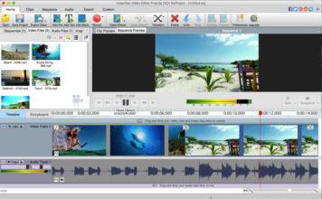 может работать с большинством видео VideoPad Video Editor