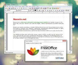 FreeOffice есть все для для набора и редактирования текста