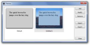 FocusWriter внешний вид под свой вкус