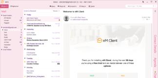 ля работы с почтой Em client д