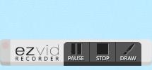 запись экрана ezvid