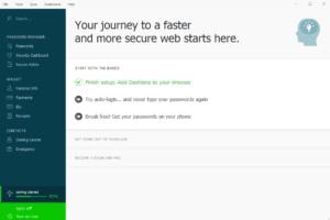 Dashlane Защита паролей