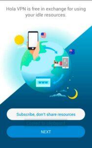 Бесплатный Hola Free VPN